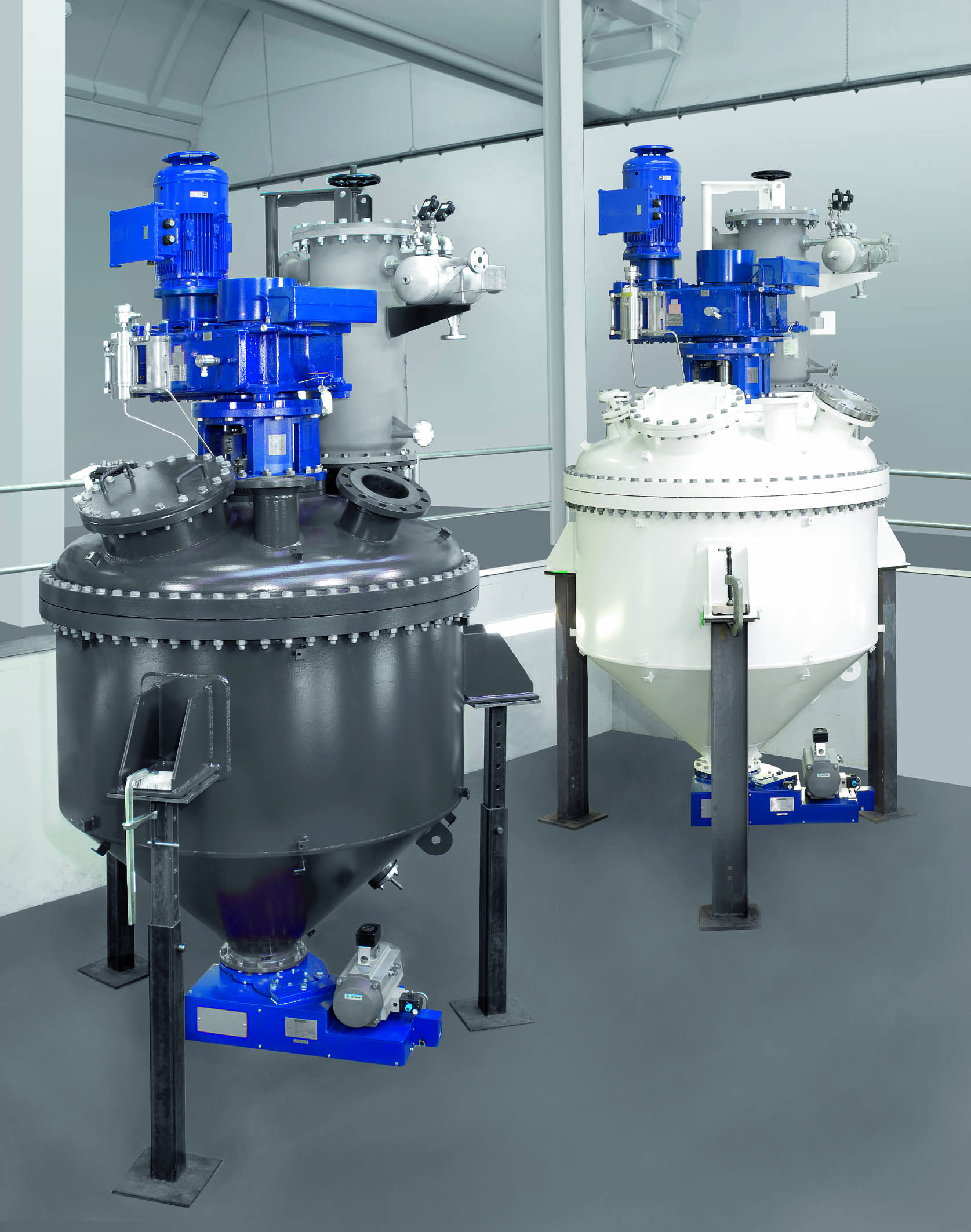 EKATO Mixer System for solids
