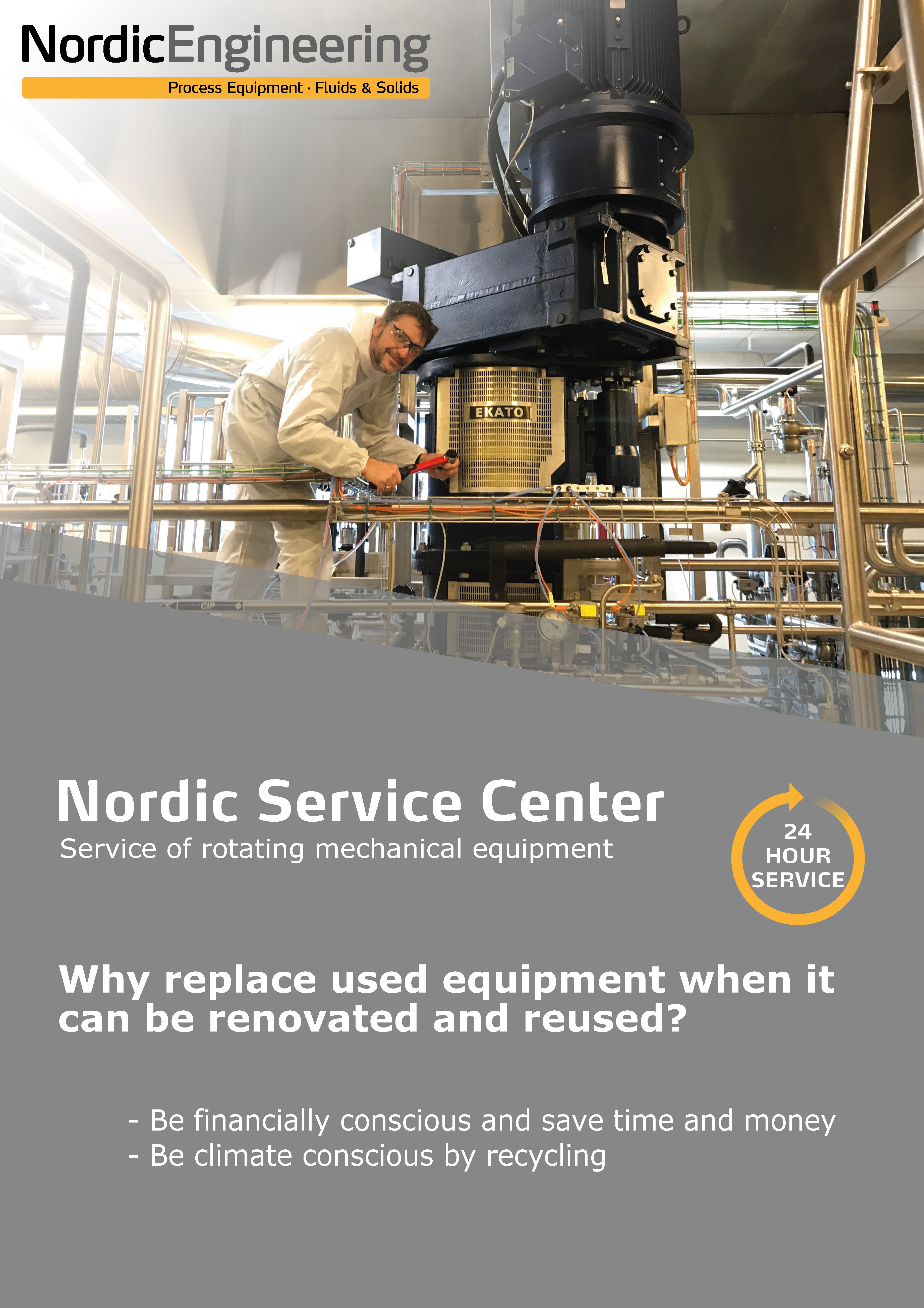 Download our Nordic Service Brochure
