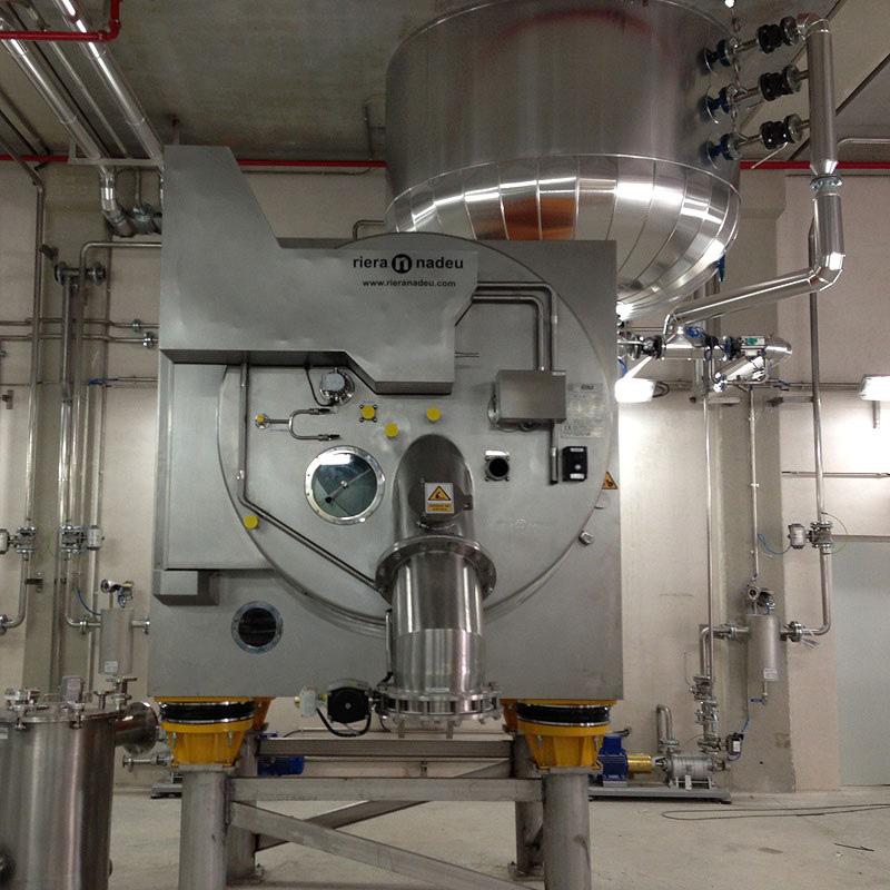 Rina serie 700 centrifuge from Riera Nadeu